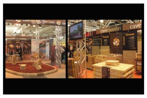 Cave Riunite - Stand fiera