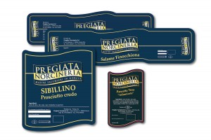 Pregiata Norcineria - Packaging